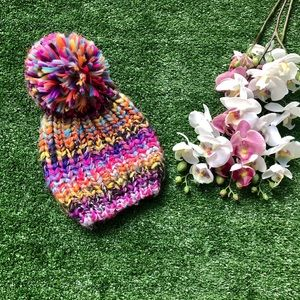 Other - Girls Colorful Hat OSFM